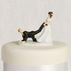 leg puller bride groom wedding cake topper  party city