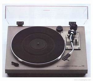 Pioneer Pl-512 - Manual - 2-speed Belt-drive Turntable
