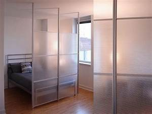 Bloombety glass wall room divider ideas for studio room for Ideas for glass room partition
