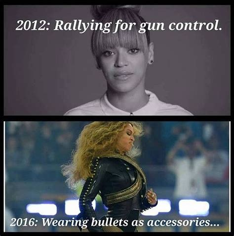 BRUTAL Meme DESTROYS Beyoncé Over Gun Control