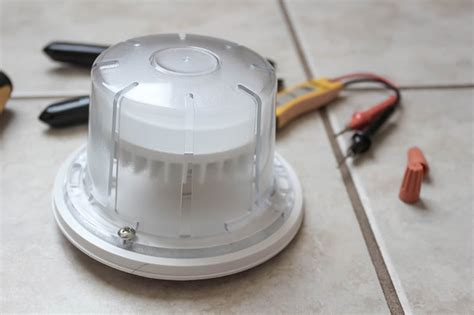 How Install Led Light Fixtures Replace Old Utility