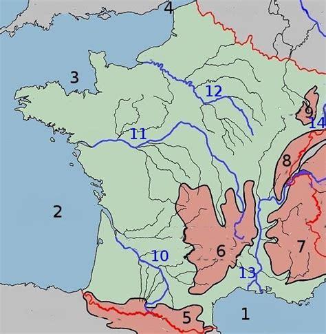 Carte De Avec Villes Fleuves Et Montagnes by Info Carte De Avec Les Mer Et Les Fleuve Et