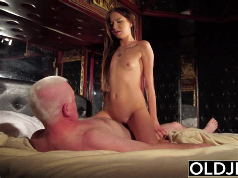 Perfect Teen Sucks Some Dick And Has Sex With Older Man