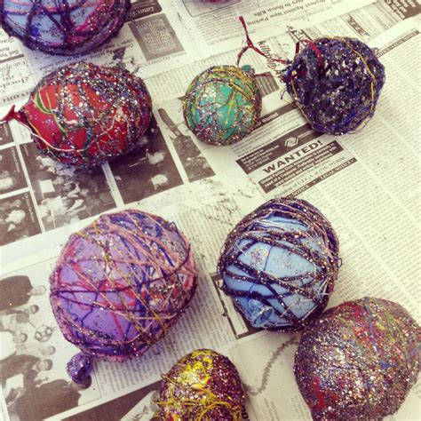 yarn ornaments new york cares art explorers