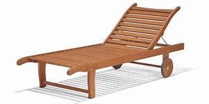 Bain De Soleil Teck : bain de soleil phuket en bois eucalyptus ~ Teatrodelosmanantiales.com Idées de Décoration
