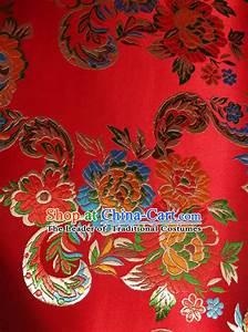 Chinese Traditional Hangzhou Suzhou Peking Silk Fabric Fabrics