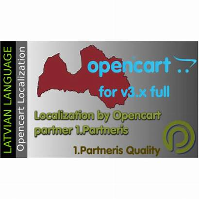 Latvian Language Opencart Pack Specification