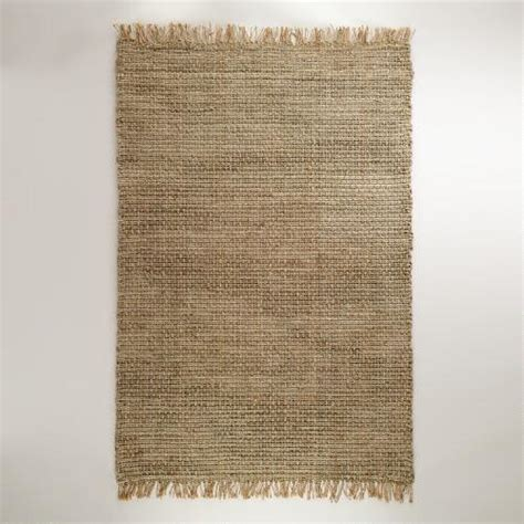 world market jute rug 6 x 9 chunky cable weave jute rug world market