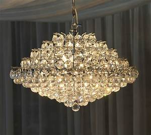 """18"""" Crystal Chandelier Town & Country Event Rentals"""