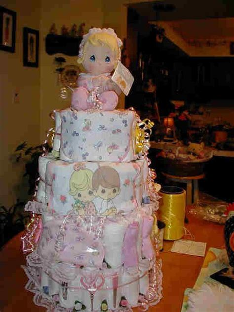 precious moments diaper cake love