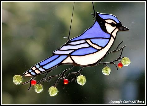 blue jay stained glass patterns stained glass patterns