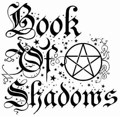 Shadows Wiccan Witch Printable Spell Clipart Pagan