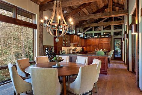 rustic chandelier interior design ideas