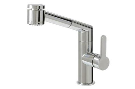 aquabrass kitchen faucets aquabrass 20243 condo pull out dual mode kitchen