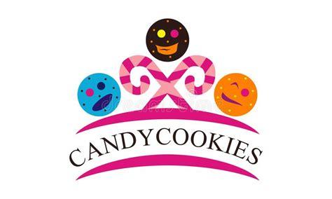 baston caramelo template galletas logo design template del caramelo ilustraci 243 n del