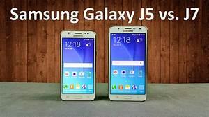 Samsung Galaxy J5 Vs  J7 Quick Comparison