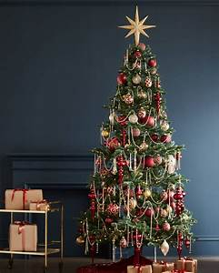 Crystal, And, Gold, Christmas, Tree, Garland