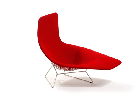 chaises knoll bertoia asymmetric chaise by knoll stylepark