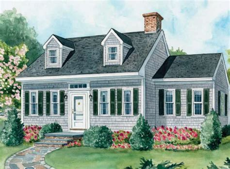 15+ Cape Cod House Style Ideas And Floor Plans ( Interior