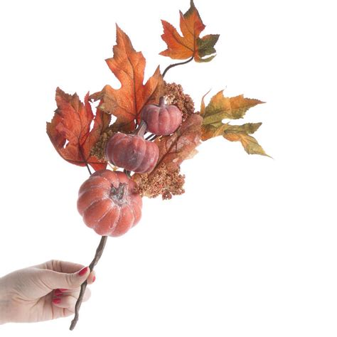 fall artificial harvest leaf pick picks sprays