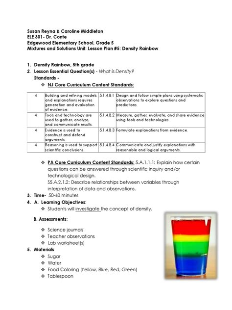 5th grade density worksheets worksheets for all