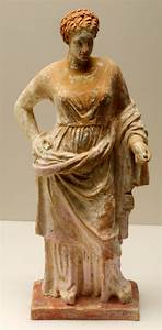 Corinthian terracotta statue of Aphrodite 4th century BC ...