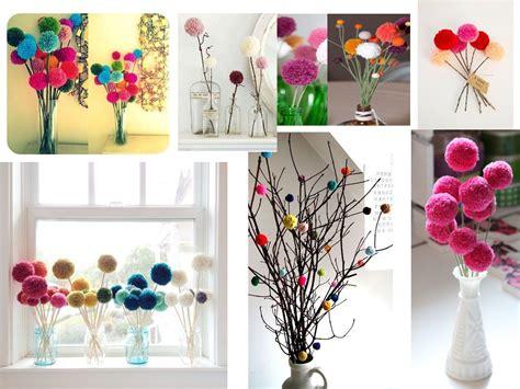 super ideas  hacer pompones de lana  decorar