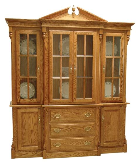Solid Wood Hutch - amish clarkston dlx dining room hutch traditional china
