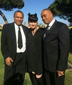 Billy Dee Williams, Pauley Perrette and Rocky Carroll NCIS ...