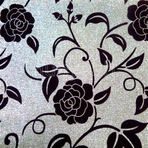 Best Upholstery Fabric For Sofa by Shiny Flower Flocking Best Upholstery Fabric