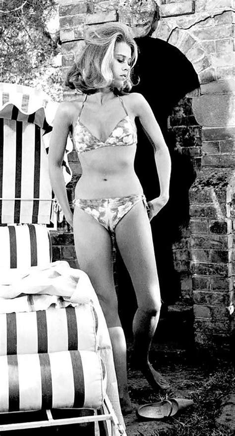 jane fonda bikini 144 best stars pools swimsuits images on pinterest
