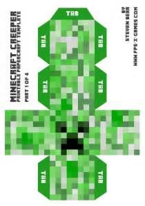 minecraft skin pictures print big minecraft creeper