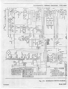 Wurlitzer 532 Amp Conversion