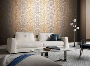 Tapete Living : tapet superlavabil de lux cu arabescuri ~ Yasmunasinghe.com Haus und Dekorationen
