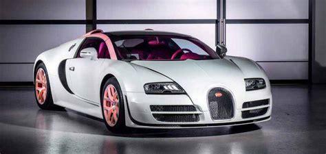 Pink Bugatti Veyron Grand Sport Vitesse Cristal Edition