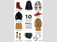 10 Essentials for your Fall Capsule Wardrobe