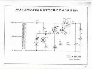 Automatic Baterai Charger Tl-502