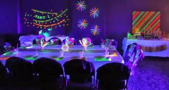 neon ideas neon themed birthday ideas birthday ideas by partymanao