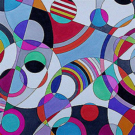 Abstract Painting Using Shapes by Elements And Principles Of Design Lauraeoliver