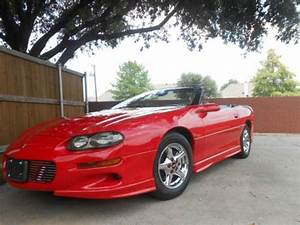 Purchase Used 2001 Chevrolet Camaro Convertible V6 3 8l In