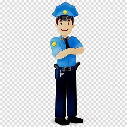 Cartoon Police Clipart Security Officer Guard Transparent