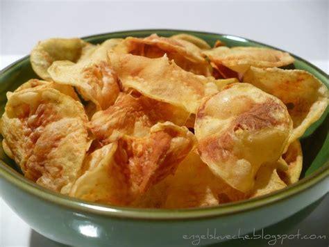 kartoffeln kochen mikrowelle essen aus engelchens k 252 che fettfreie kartoffelchips aus