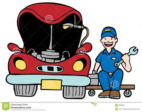Auto Body Repair Shop Clipart