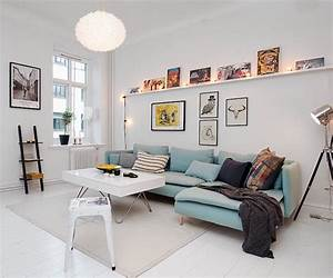 Idee Salon Scandinave : d co petit salon 22 id es de meubles couleurs et accents ~ Melissatoandfro.com Idées de Décoration