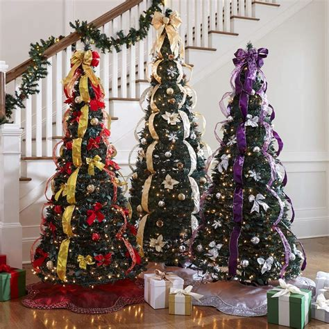 decorated pop up christmas trees most realistic artificial christmas trees for 2018 9796