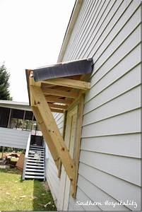 House Renovations: Week 10, Building a Door Roof {or How
