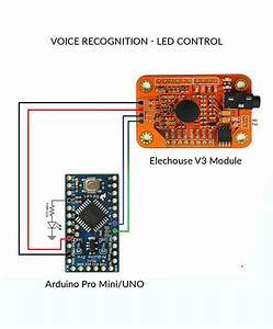 Voice Recognition With Elechouse V3 And Arduino