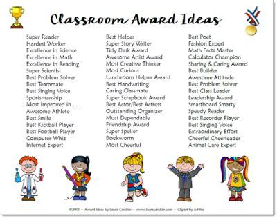 classroom awards make feel special elementary 749 | 5b35020bf0721aaa5fb4472260a373ee