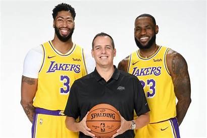 Lakers Angeles Team Players Lebron Vogel Frank