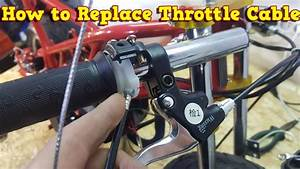 How To Replace Throttle Cable In Pocket Bikes Mini Dirt